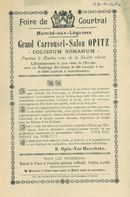Paasfoor 1899: Grand Carrousel-Salon Opitz