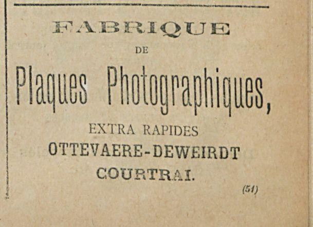 Plaques Photographiques