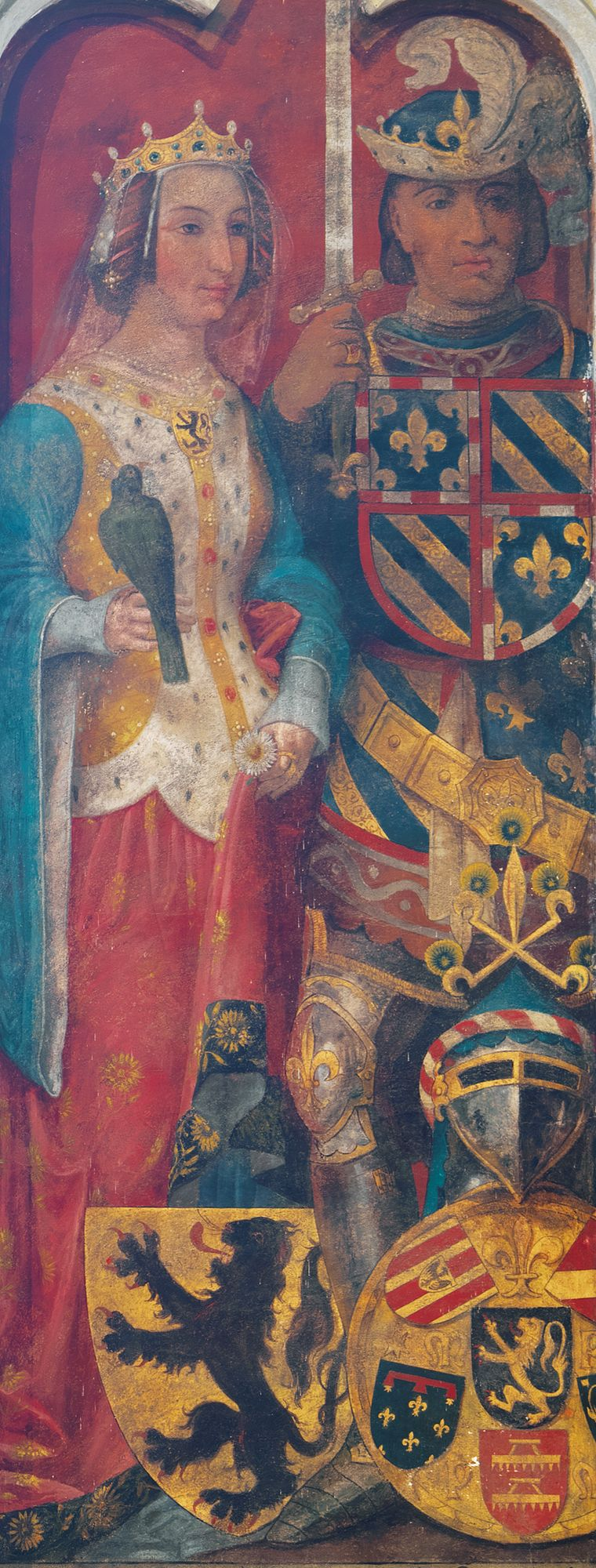 1384 - 1405 Margaretha van Male met Filips de Stoute