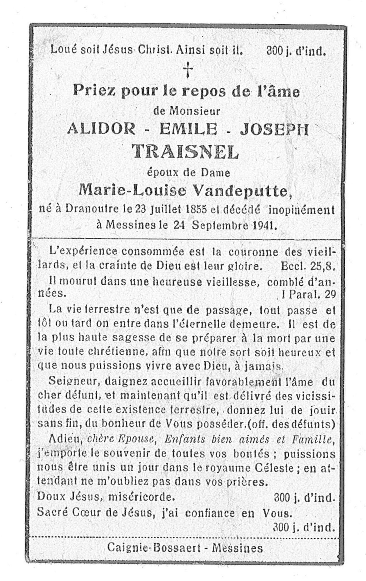Alidor-Emile-Joseph Traisnel