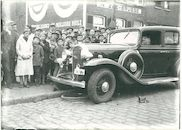 Verkeersongeval in de Brugsesteenweg 1936