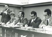 Politieke meeting 1973