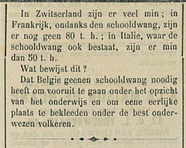Het onderwijs in Belgien-1