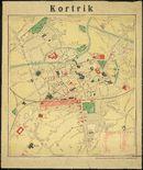 Kortrijk in 1917