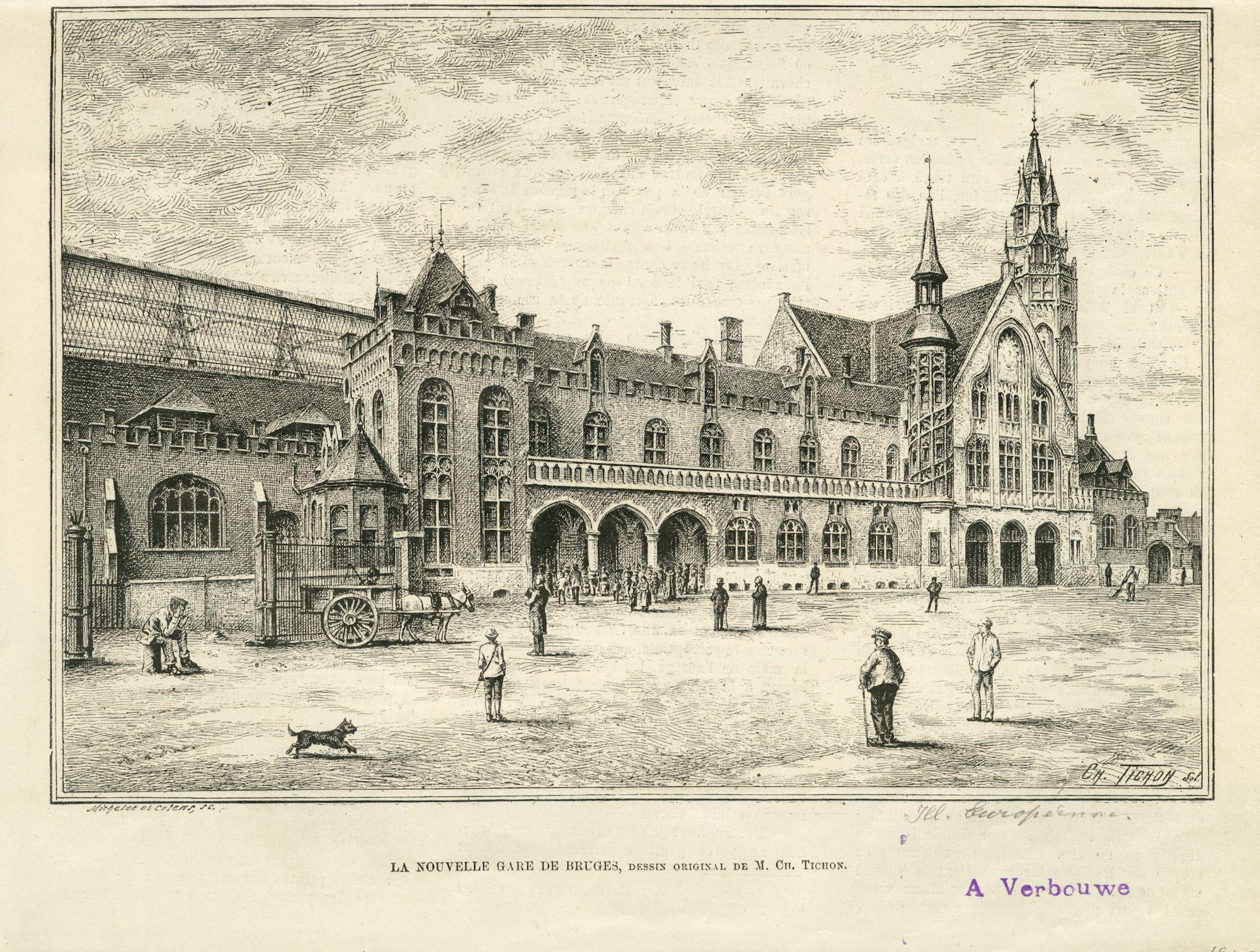 Westflandrica - het neogotische station van Brugge