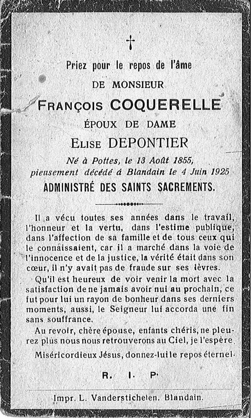 Coquerelle François