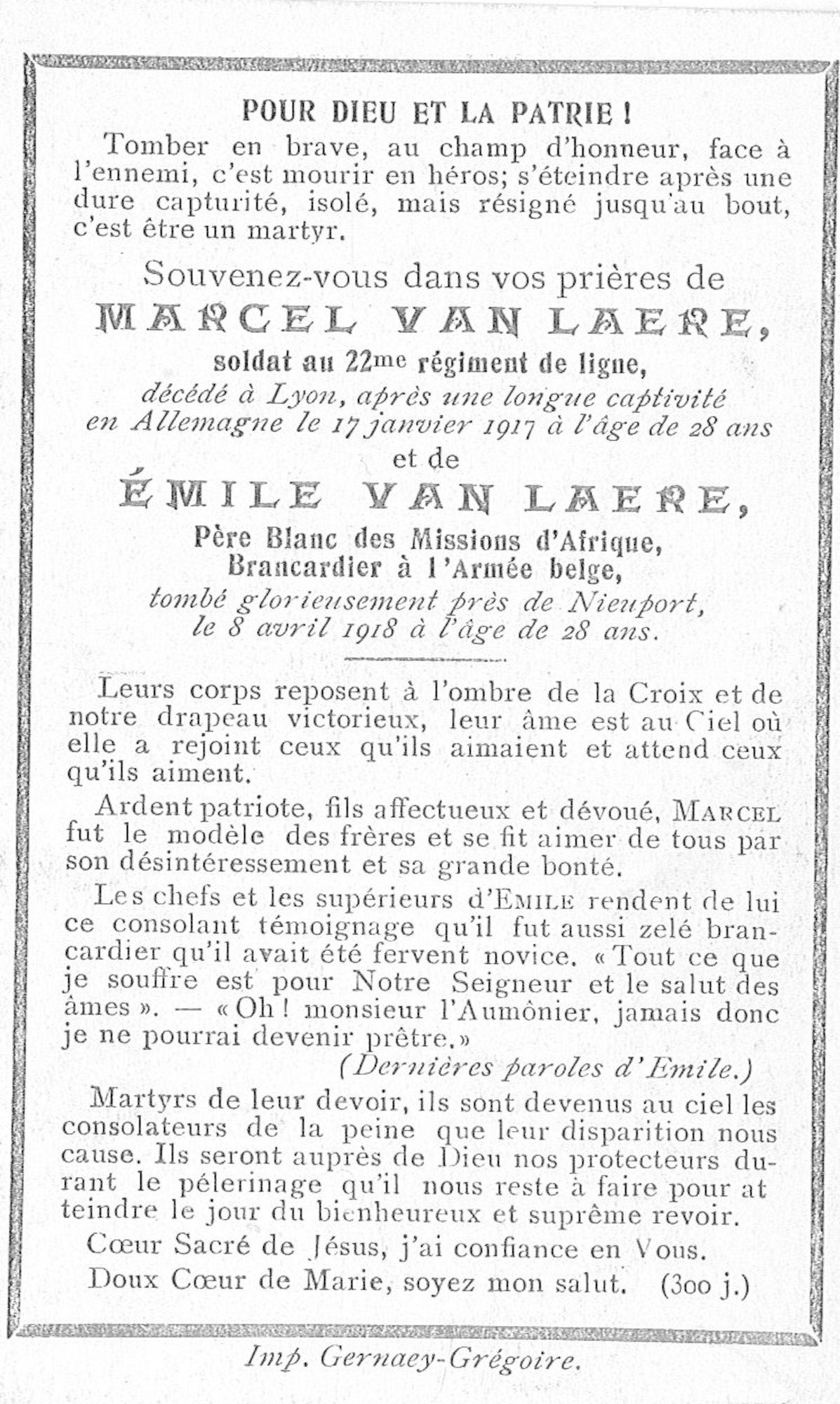 Marcel Van Laere
