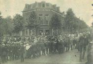 Begrafenis van de gefusilleerden in 1920