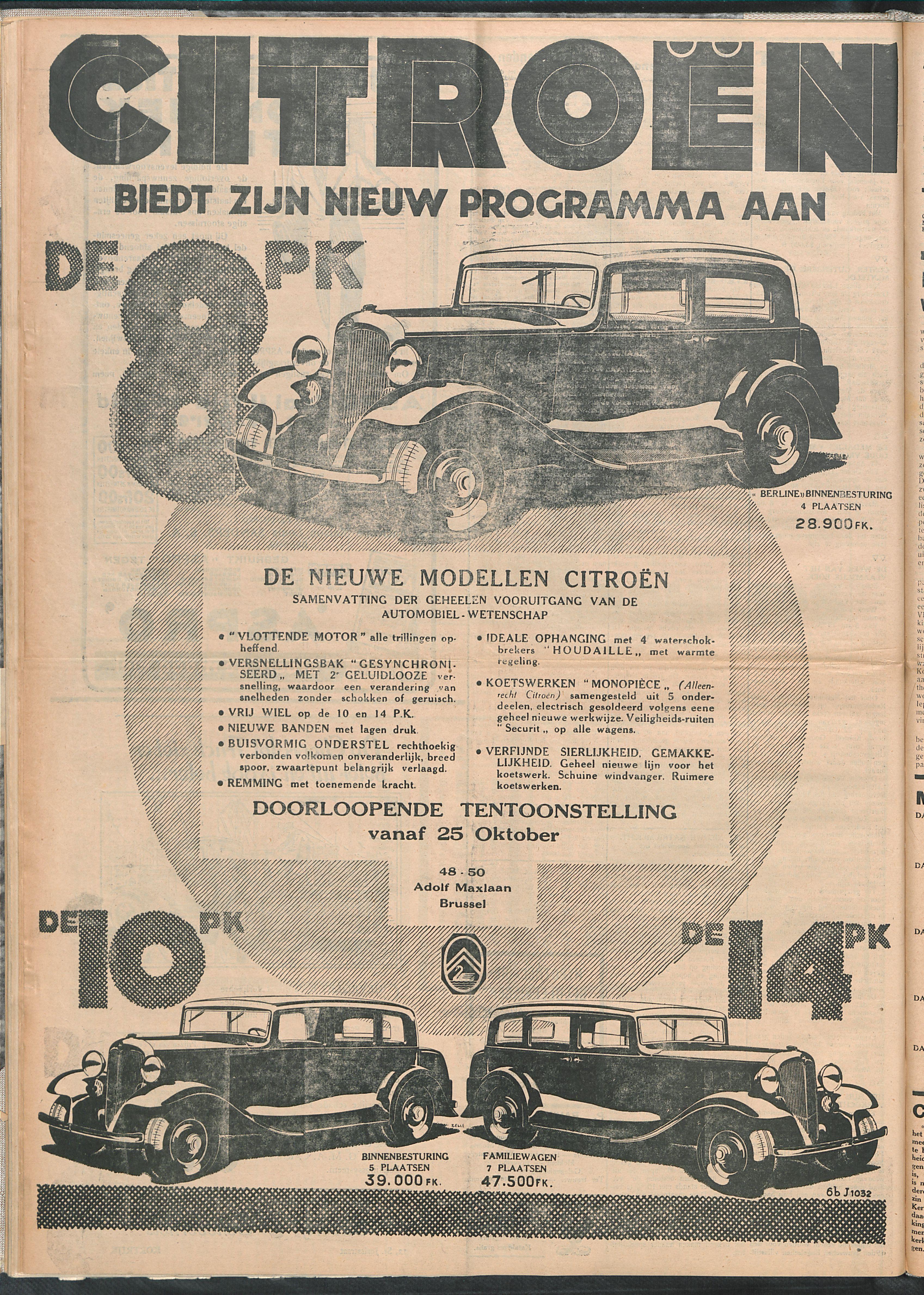 Het Kortrijksche Volk 1932-10-30 p6