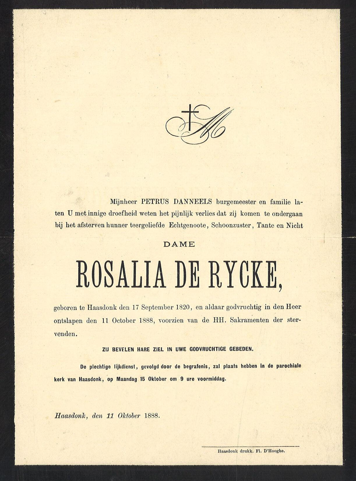 Rosalia De Rycke