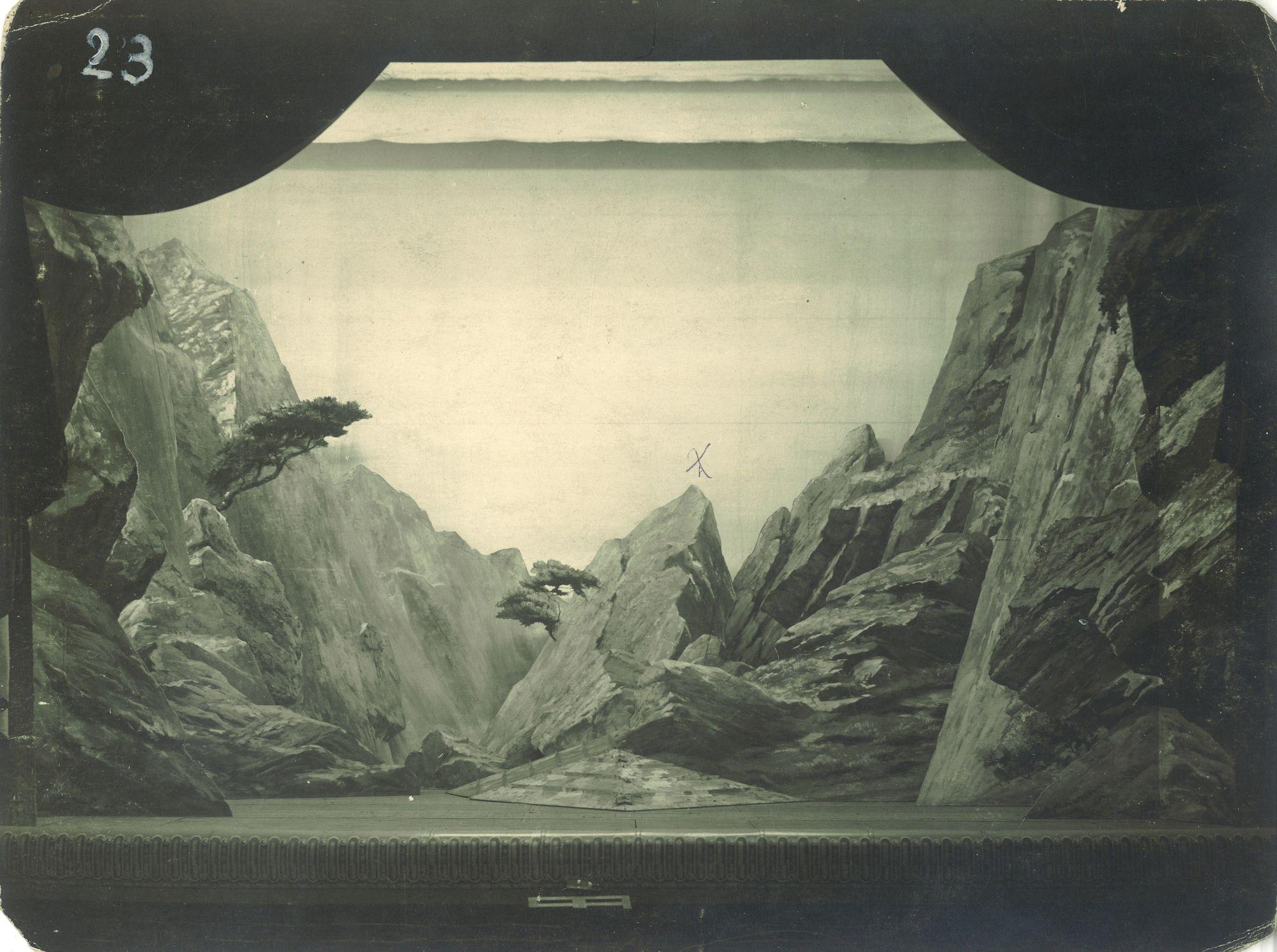Rochers et montagne