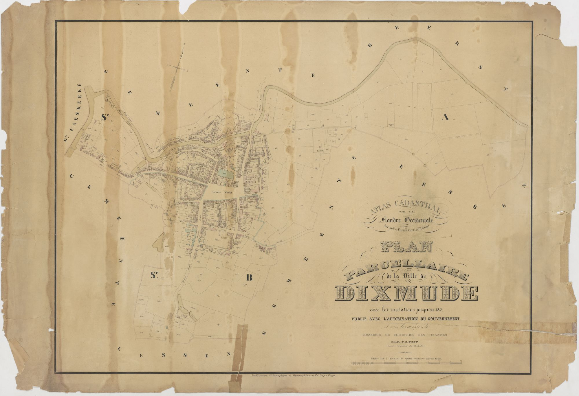 Westflandrica - Poppkaart van Diksmuide