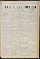 L'echo De Courtrai 1912-11-10