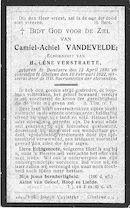 Camiel-Achiel Vandevelde
