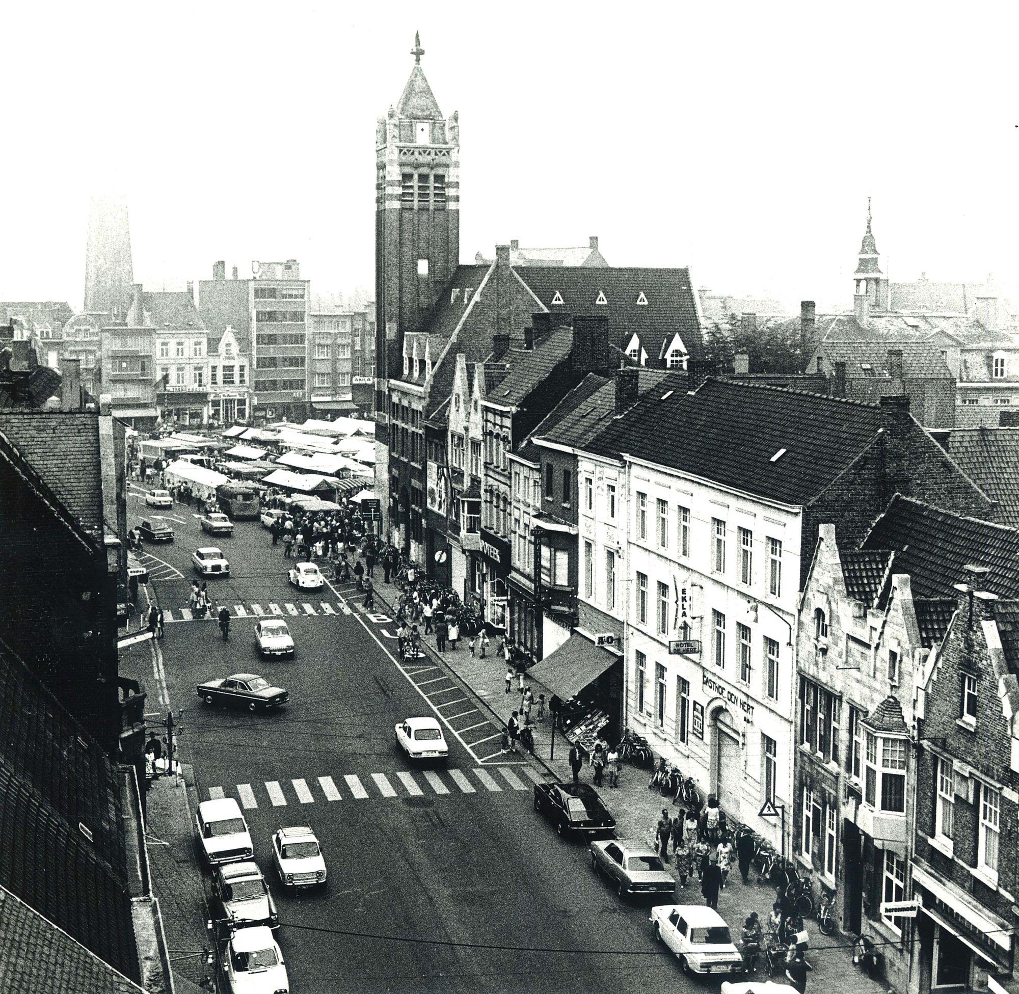 Jaarmarkt van Roeselare 1972