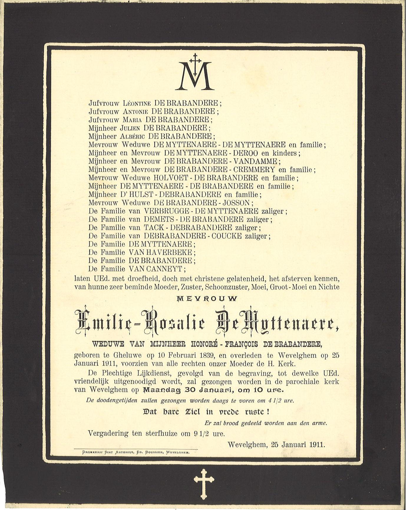 Emilie-Rosalie De Myttenaere