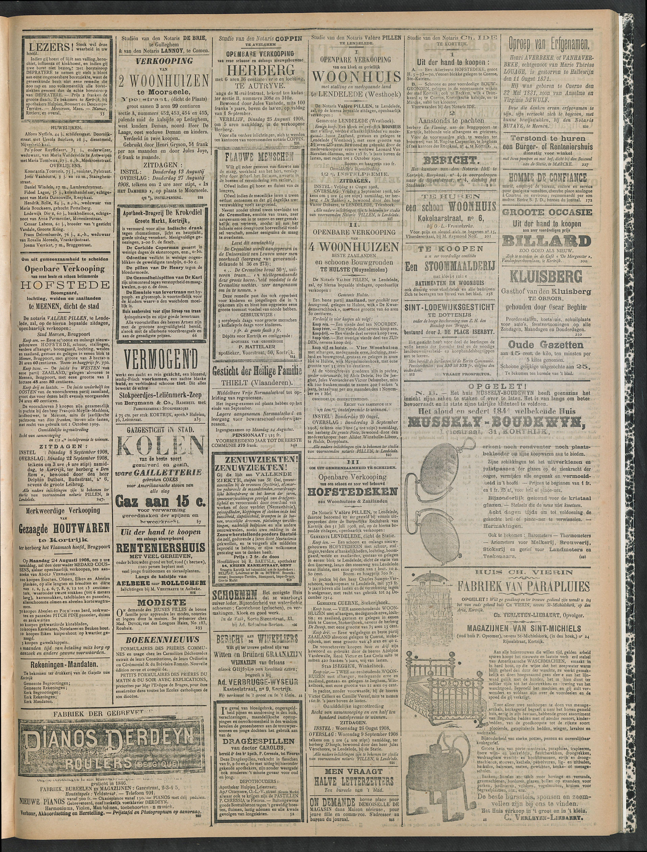 Gazette Van Kortrijk 1908-08-13 p3