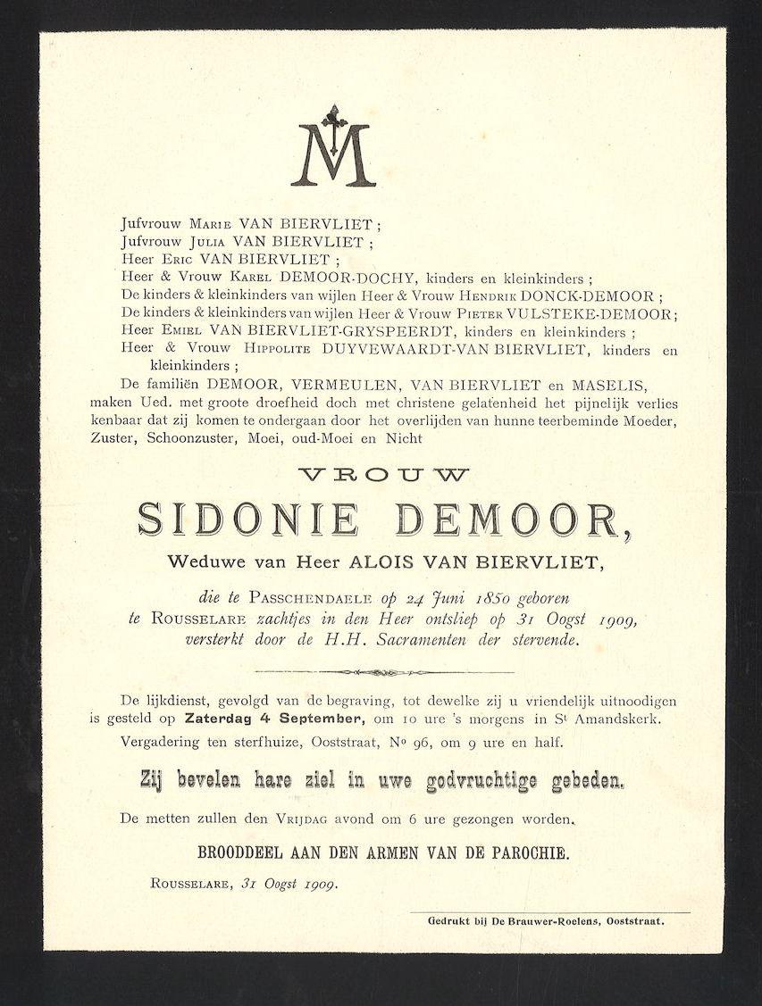 Sidonie Demoor