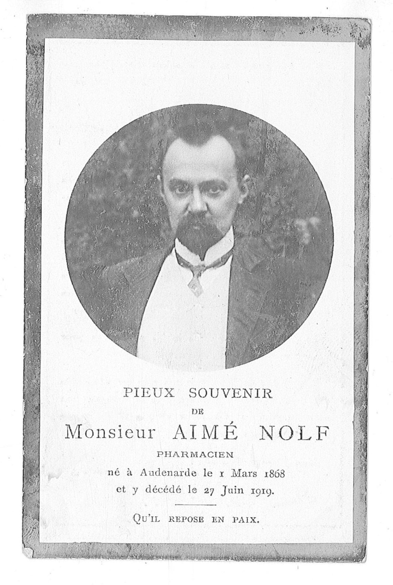Aimé Nolf