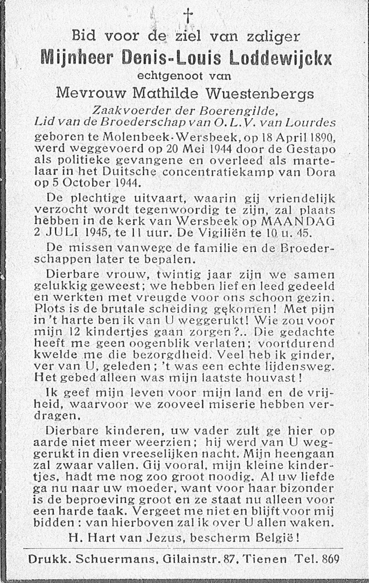 Denis-Louis Loddewijckx