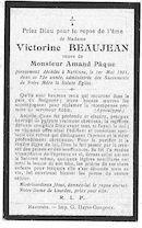 Victorine Beaujean