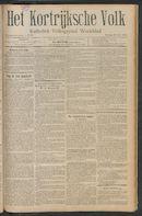 Het Kortrijksche Volk 1911-07-23