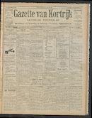 Gazette Van Kortrijk 1910-05-01 p1
