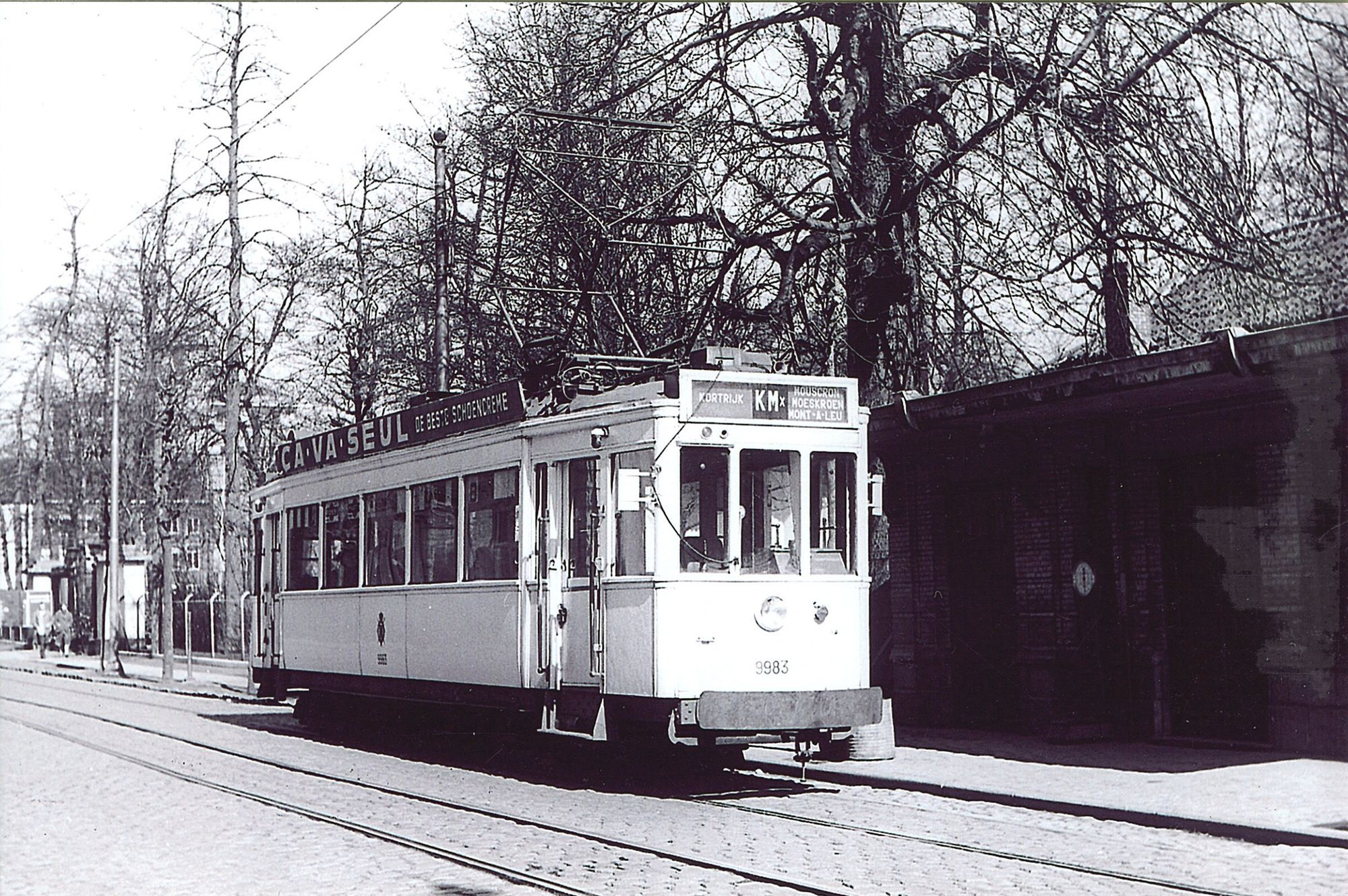 Tram in Doorniksewijk