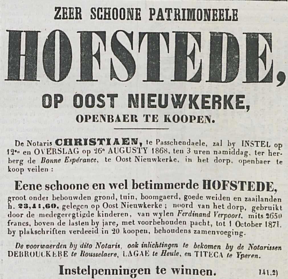 ZEER SCHOONE PATRIMONEELE HOFSTEDE 0P 00ST mEUWKERKE,