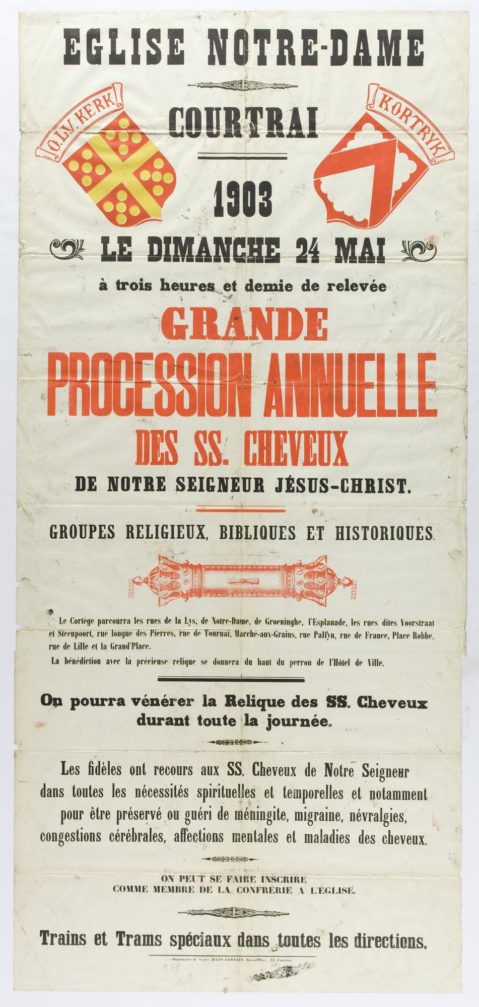 Heilig Haarprocessie 1903