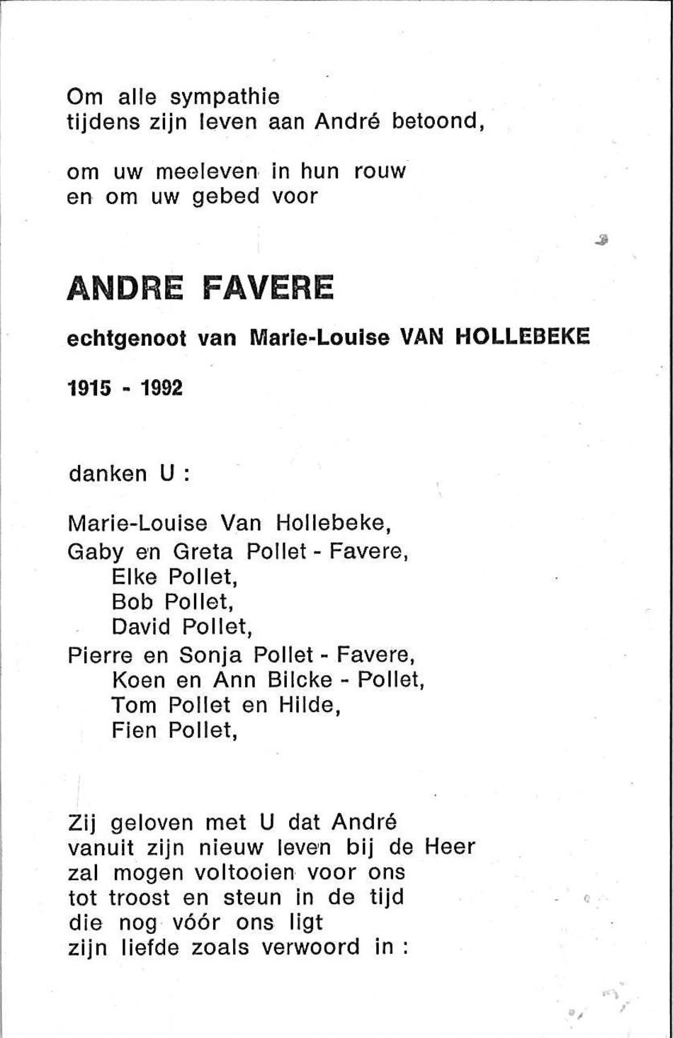 Andre Favere