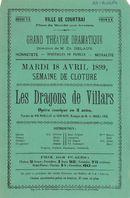 "Paasfoor 1899: opera ""Les Dragons de Villars"""