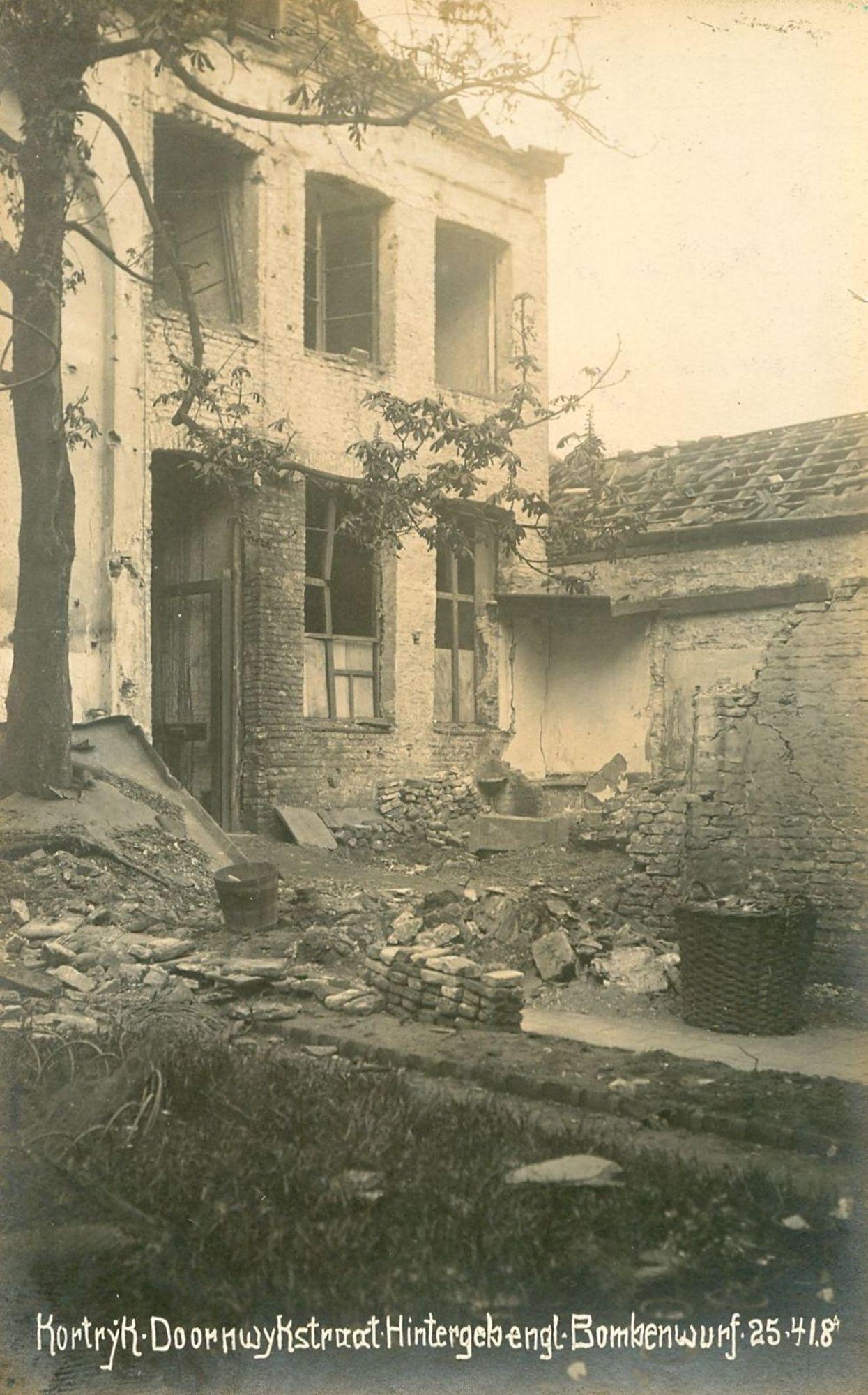 Doorniksestraat in 1918