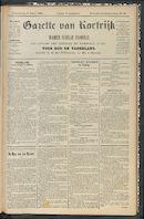 Gazette Van Kortrijk 1898-06-09