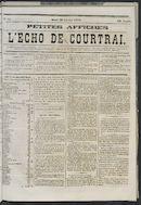 L'echo De Courtrai 1873-02-20 p1