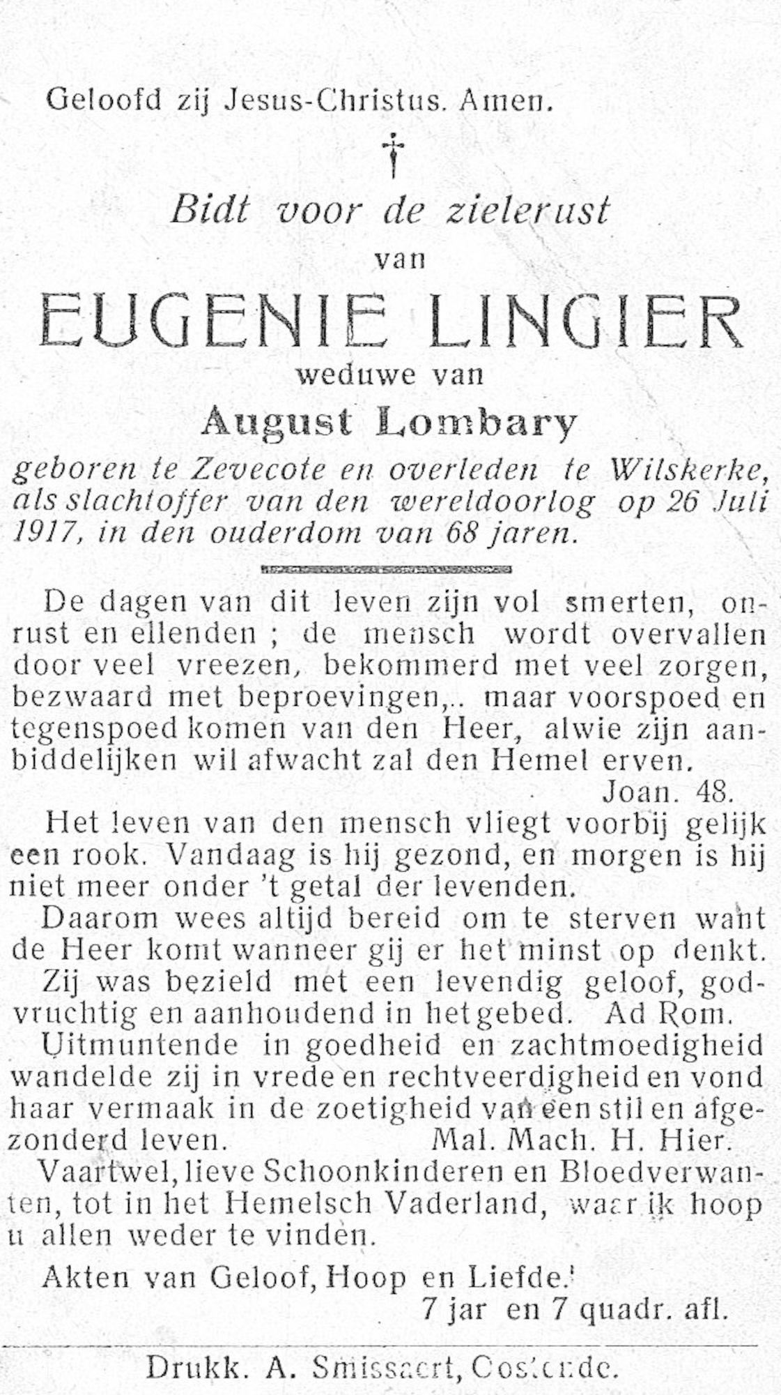 Eugenie Lingier