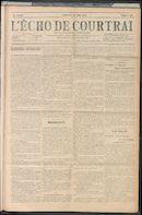 L'echo De Courtrai 1909-06-20