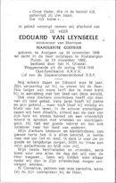 Edouard Van Leynseele