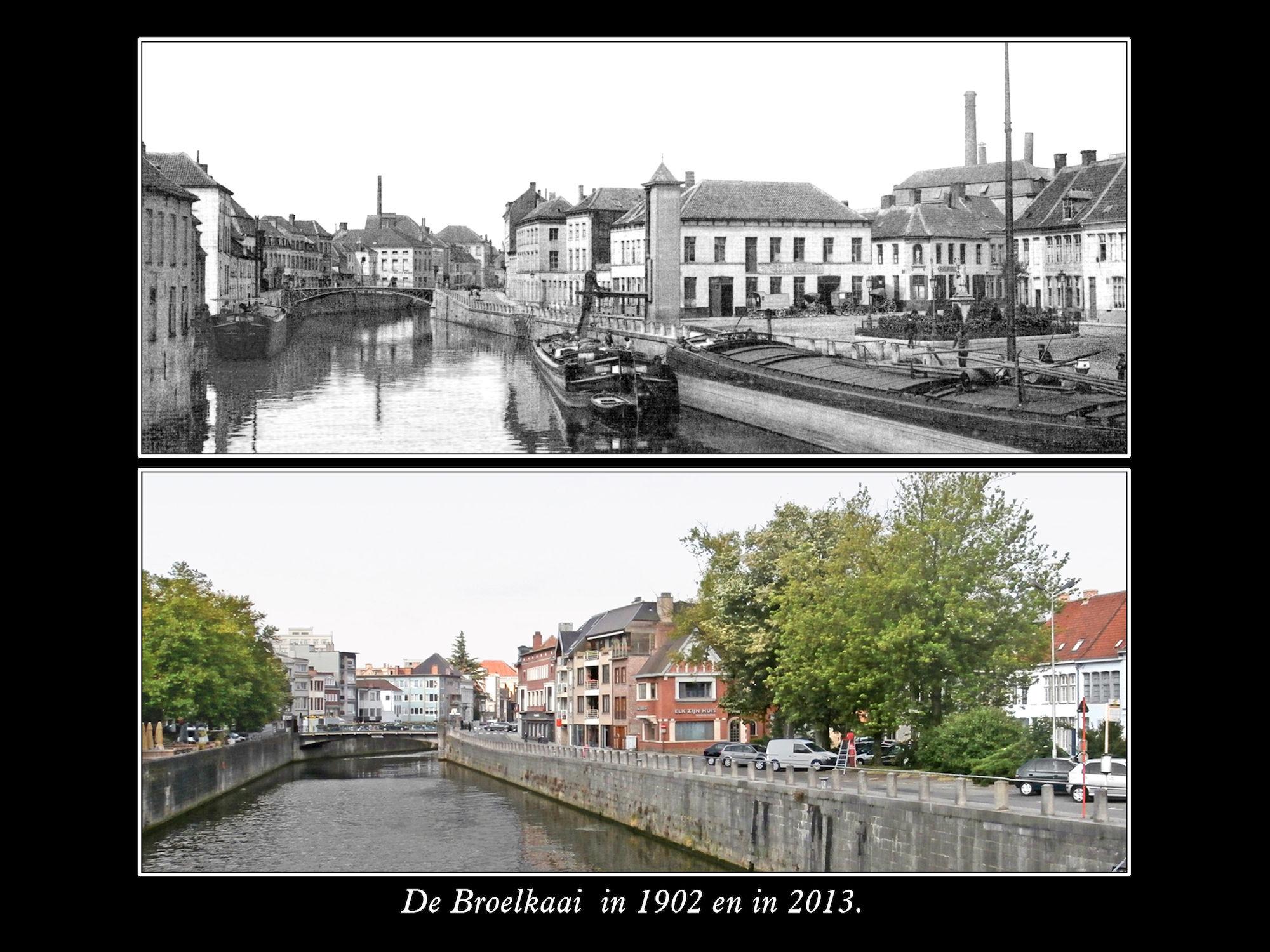 Broelkaai 1902 2013