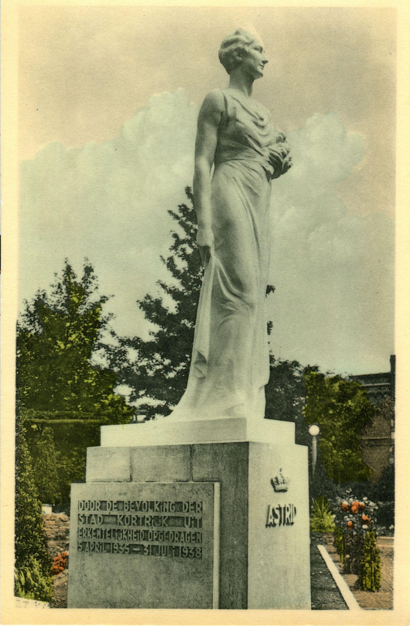 Standbeeld van Koningin Astrid