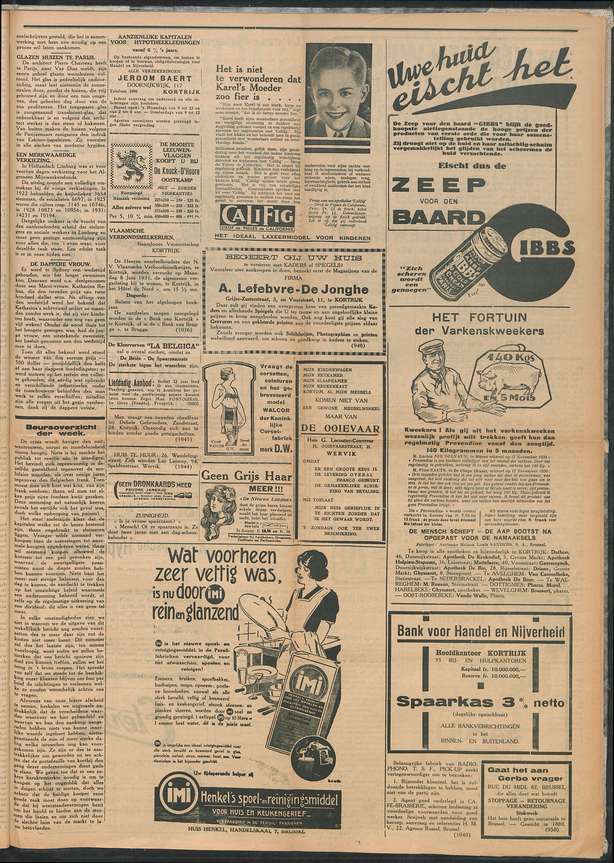 Het Kortrijksche Volk 1931-05-31 p3