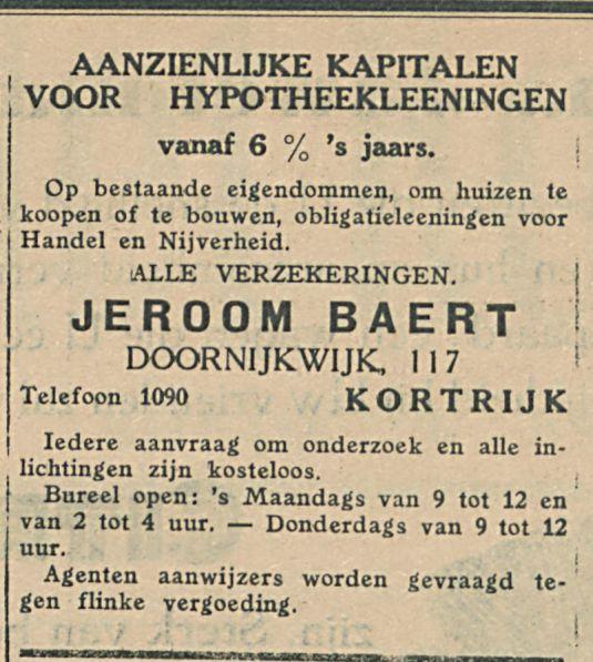 JEROOM BAERT