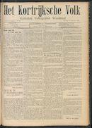 Het Kortrijksche Volk 1908-10-11