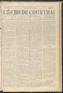 L'echo De Courtrai 1893-09-24