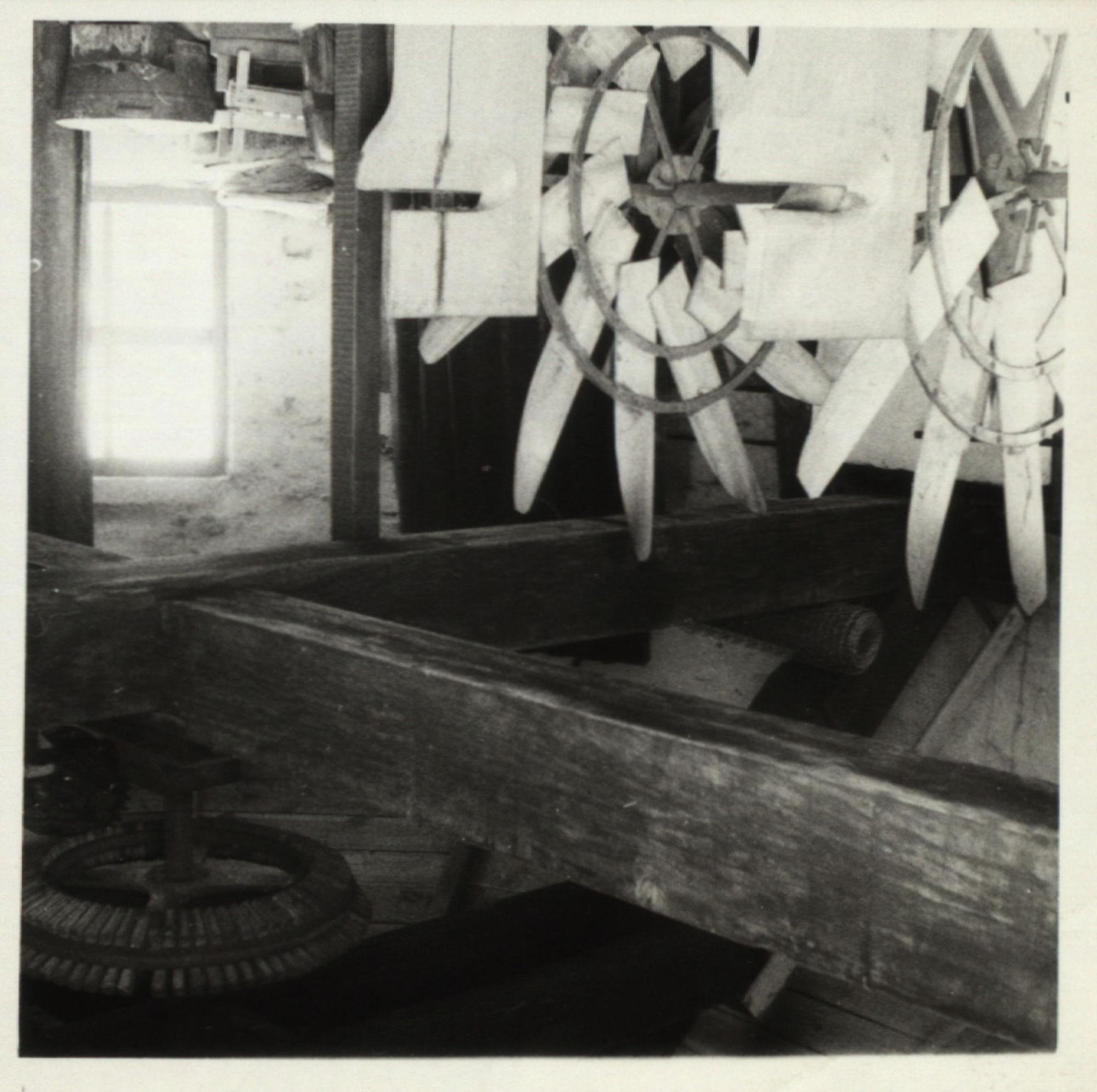 Het zwingelkot in vlaszwingelmolen Deprez (Preetjes molen) Heule