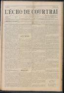 L'echo De Courtrai 1914-07-23