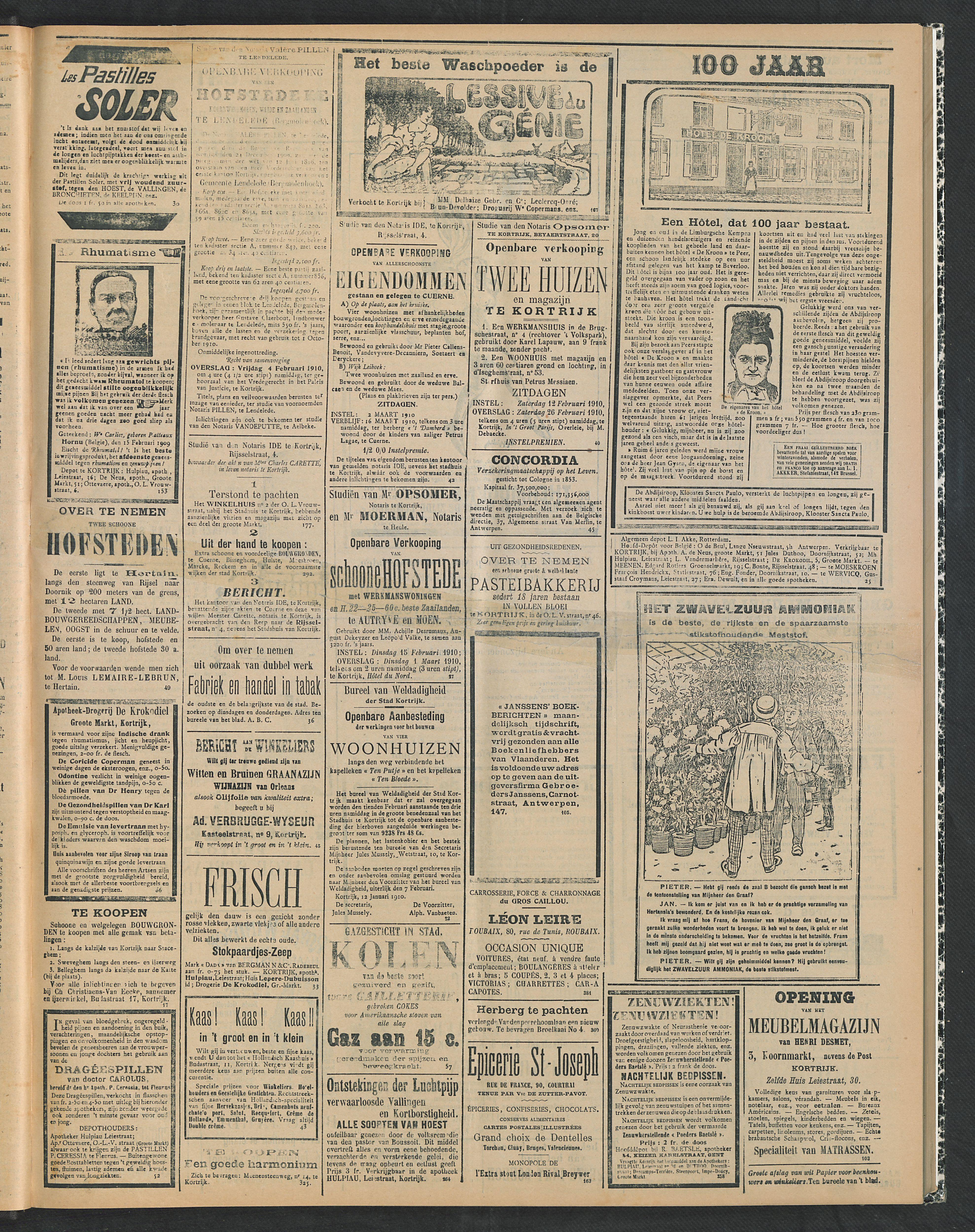 Gazette Van Kortrijk 1910-01-30 p3