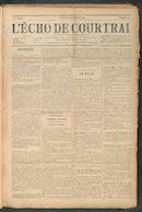 L'echo De Courtrai 1911-01-29