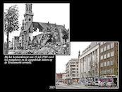 Graanmarkt 1944 en  2013
