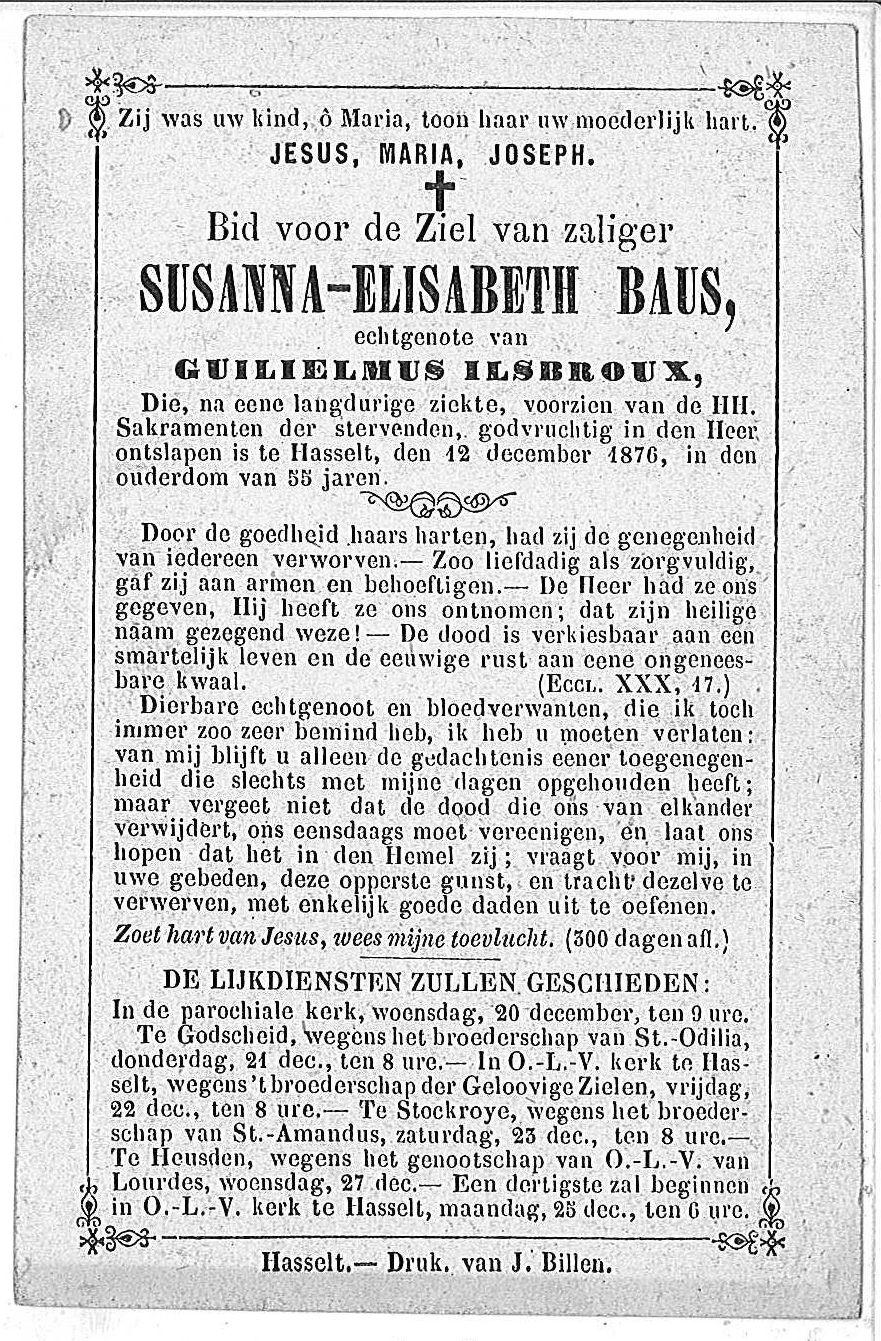 Susanna-Elisabeth Baus